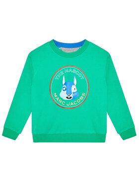 Little Marc Jacobs Little Marc Jacobs Sweatshirt W25466 D Grün Regular Fit