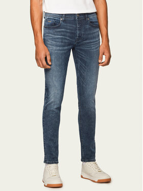 Boss Boss Jeansy Tapered Fit Taber Bc-P Sway 50433145 Blu scuro Tapered Fit