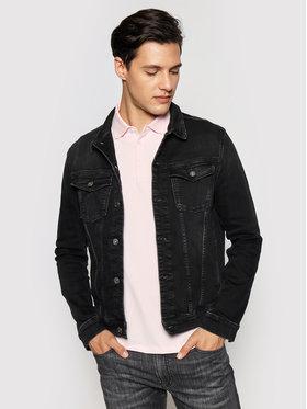 KARL LAGERFELD KARL LAGERFELD Kurtka jeansowa 505800 511835 Czarny Regular Fit