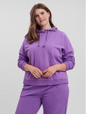 Vero Moda Curve Vero Moda Curve Світшот Octavia 10256770 Фіолетовий Loose Fit