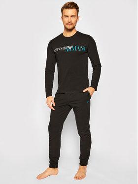 Emporio Armani Underwear Emporio Armani Underwear Pyžamo 111907 0A516 00020 Čierna