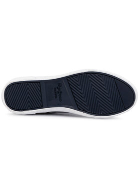 Pepe Jeans Tenisky Kenton Slip On PMS30602 Sivá