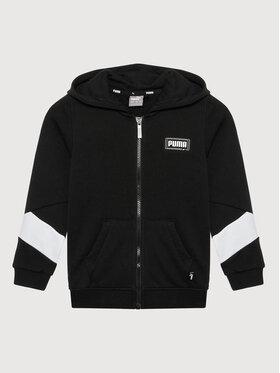 Puma Puma Sweatshirt Rebel Full-Zip 587021 Noir Regular Fit