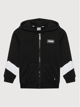 Puma Puma Sweatshirt Rebel Full-Zip 587021 Schwarz Regular Fit
