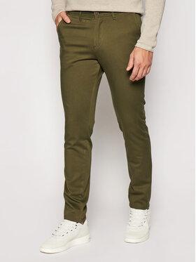 Jack&Jones Jack&Jones Spodnie materiałowe Marco Bowie 12150161 Zielony Slim Fit