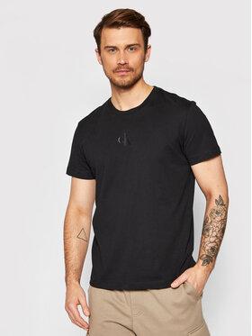 Calvin Klein Jeans Calvin Klein Jeans T-shirt J30J317499 Crna Regular Fit