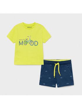 Mayoral Mayoral Set T-Shirt und Sportshorts 1673 Bunt Regular Fit