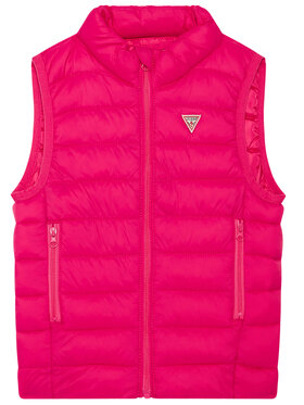 Guess Guess Gilet H93T01 WCAO0 Rosa Regular Fit