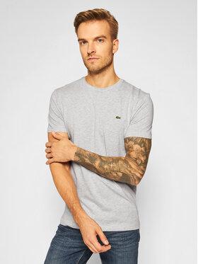Lacoste Lacoste Marškinėliai TH2038 Pilka Regular Fit