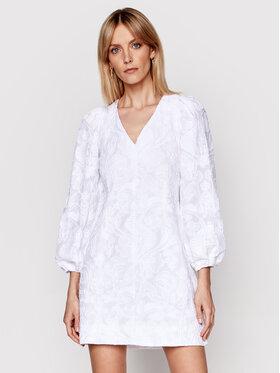 Samsøe Samsøe Samsøe Samsøe Každodenné šaty Anai F21100062 Biela Regular Fit