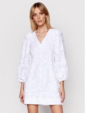 Samsøe Samsøe Samsøe Samsøe Každodenní šaty Anai F21100062 Bílá Regular Fit