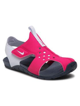 Nike Nike Sandály Sunray Protect 2 (PS) 943826 604 Růžová