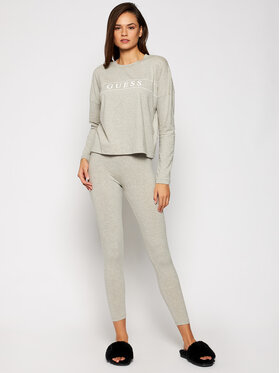 Guess Guess Pyjama O0BX03 KA5Y0 Grau Slim Fit