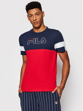 Fila Fila T-Shirt Jadon Blocked 683257 Barevná Regular Fit