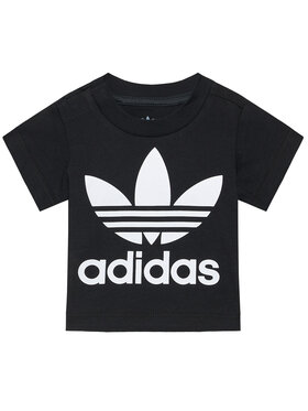 adidas adidas T-shirt Trefoil DV2829 Nero Regular Fit