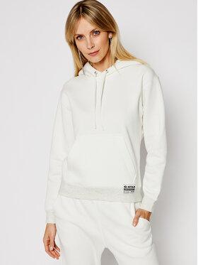 G-Star Raw G-Star Raw Sweatshirt Premium Core Hooded D17753-C235-111 Weiß Regular Fit