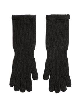 Gino Rossi Gino Rossi Dámske rukavice O3W6-002-AW20 Čierna