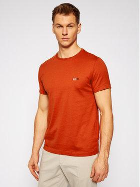 Tommy Hilfiger Tailored Tommy Hilfiger Tailored T-Shirt MERCEDES-BENZ Mesh Collar TT0TT08497 Oranžová Regular Fit