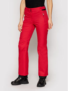 Rossignol Rossignol Spodnie narciarskie RLIWP05 Czerwony Regular Fit