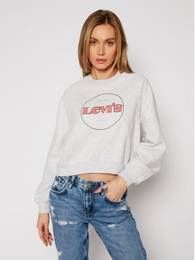 Levi's® Levi's® Sweatshirt Vintage Raglan Fleece 18722-0015 Grau Regular Fit