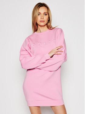 Guess Guess Trikotažinė suknelė W1RK00 K7UW2 Rožinė Relaxed Fit