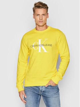 Calvin Klein Jeans Calvin Klein Jeans Bluza J30J315595 Żółty Regular Fit