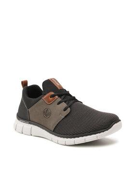 Rieker Rieker Sneakersy B77A6-00 Czarny
