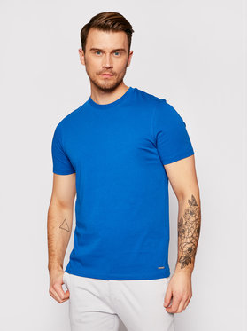 Roy Robson Roy Robson T-Shirt 4830-90 Niebieski Regular Fit