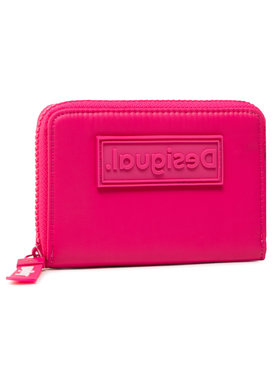 Desigual Desigual Veľká dámska peňaženka 21SAYA08 Ružová
