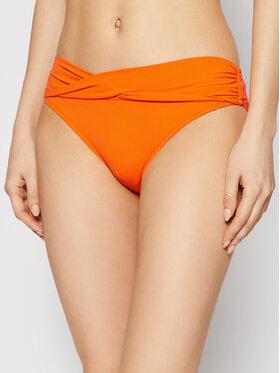 Seafolly Seafolly Bikini partea de jos Twist Band S4320-065 Portocaliu