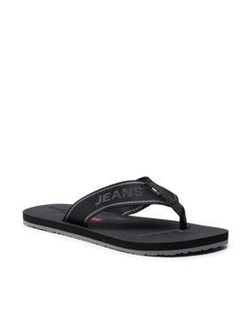 Tommy Jeans Tommy Jeans Žabky Comfort Footbed Beach Sandal EM0EM00693 Čierna