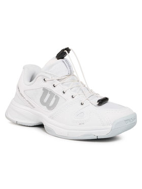 Wilson Wilson Обувки Rush Pro Jr Ql WRS326220 Бял