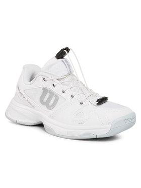 Wilson Wilson Παπούτσια Rush Pro Jr Ql WRS326220 Λευκό
