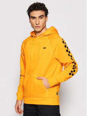 Vans Vans Bluză Versa Hoodie VN0A3HPZ Galben Regular Fit