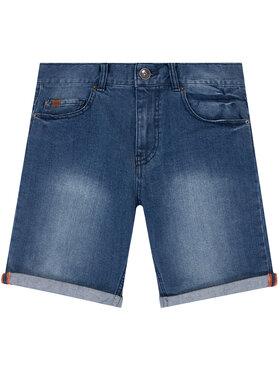 Timberland Timberland Pantaloni scurți de blugi T24A98 D Bleumarin Regular Fit