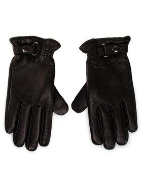 Gino Rossi Gino Rossi Pánske rukavice AR0183-000-DR00-9900-T Čierna