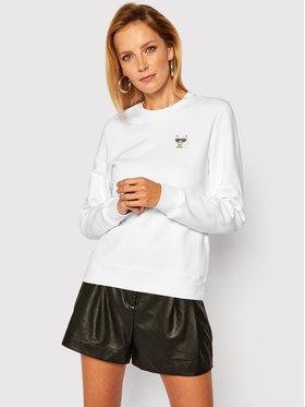KARL LAGERFELD KARL LAGERFELD Sweatshirt Ikonik Mini Choupette 206W1814 Blanc Regular Fit