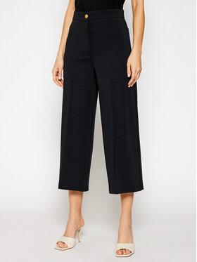 Pinko Pinko Pantaloni din material Svelto PE 21 BLK01 1G15SA 5872 Negru Regular Fit