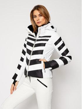 Descente Descente Lyžiarska bunda Nika DWWQGK11 Biela Regular Fit