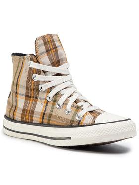 Converse Converse Sneakers aus Stoff Ctas Hi 568925C Braun
