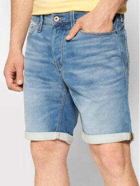 Jack&Jones Jack&Jones Kratke traperice Rick 12166263 Plava Regular Fit