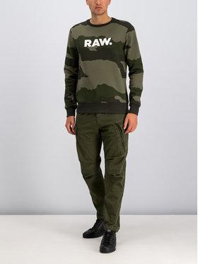 G-Star RAW G-Star RAW Mikina D15172-B531-A695 Zelená Regular Fit