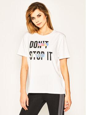 Liu Jo Sport Liu Jo Sport T-shirt TA0011 J5003 Blanc Regular Fit
