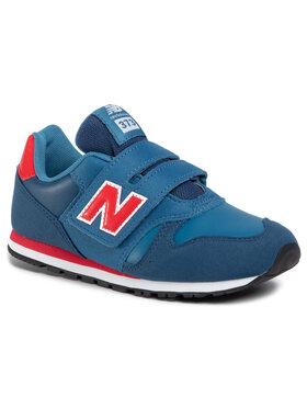 New Balance New Balance Laisvalaikio batai YV373KNR Tamsiai mėlyna