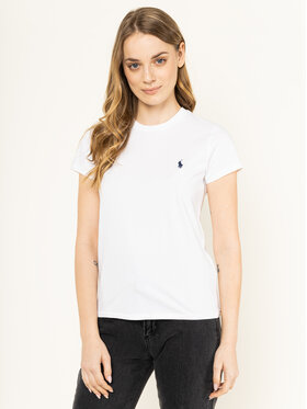 Polo Ralph Lauren Polo Ralph Lauren T-shirt 211734144 Blanc Regular Fit