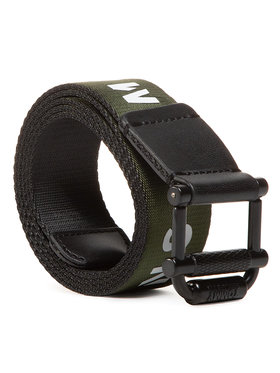 Tommy Jeans Tommy Jeans Мъжки колан Tjm Roller Rev Webbing Belt 2.5 AM0AM05758 Зелен