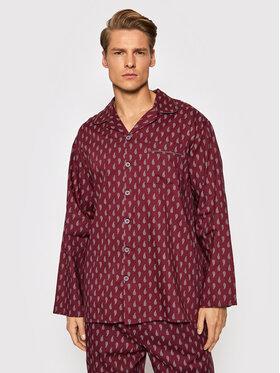 Cyberjammies Cyberjammies Koszulka piżamowa Frankie 6644 Bordowy