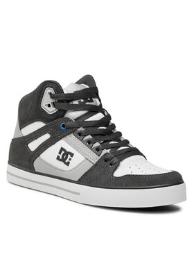 DC DC Sneakers Pure High-Top Wc ADYS400043 Gris