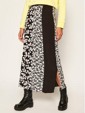 Calvin Klein Jeans Calvin Klein Jeans Midi sukně Floreal J20J213503 Černá Regular Fit