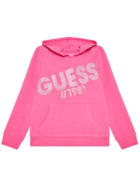 Guess Guess Bluză K1YQ00 KA6V0 Roz Regular Fit